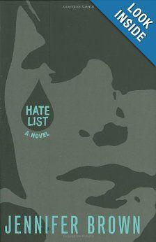 Amazon.com: Hate List (9780316041447): Jennifer Brown: Books