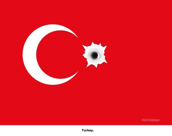 Attempted coup in #Turkey. Cartoon by Niels Bo Bojesen: http://www.cartoonmovement.com/cartoon/31756