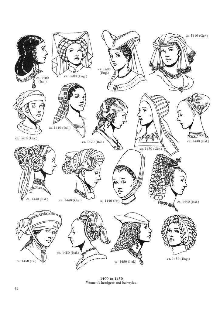 Renaissance Fashions 43 / Renaissance Fashions / Kids printables coloring pages