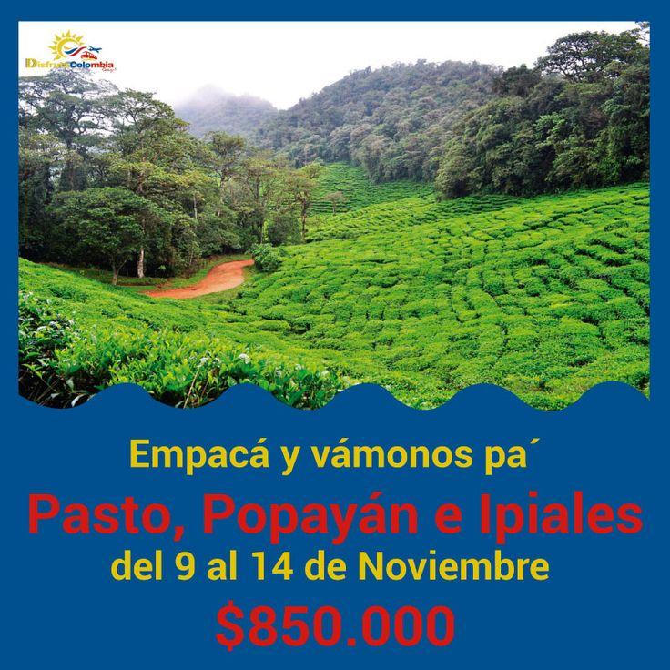 ¡A conocer se dijo! #reservaya tu salida y conoce los lindos lugares que tiene #colombia para la mejor #experienciadevida
