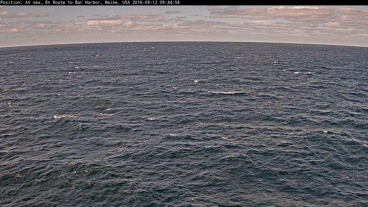 Crystal Serenity - Starboard Side Webcam / Camera