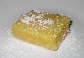 Lemon squares. If you're one of my close friends... you know how good these are because I make them waaay too often.