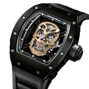 Skull Chronograph Watch Richard Mille Watches