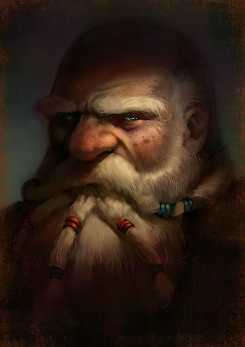 Alternate NPC and PC portraits... just because! :P - Page ... |Dwarf Male Portrait