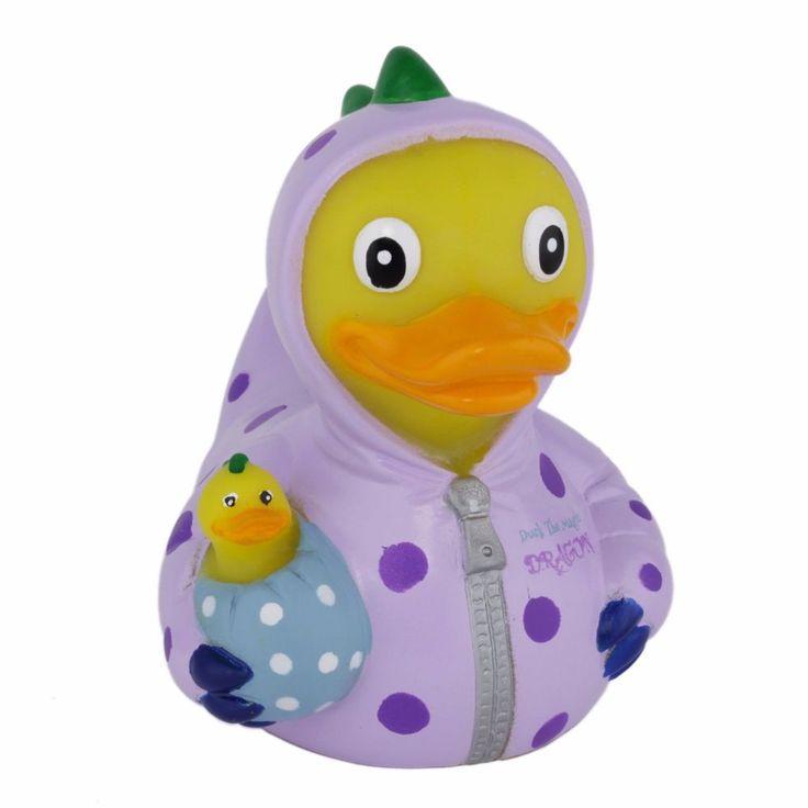 CelebriDucks Duck the Magic Dragon Rubber Duck Dragon Collectibles  | eBay