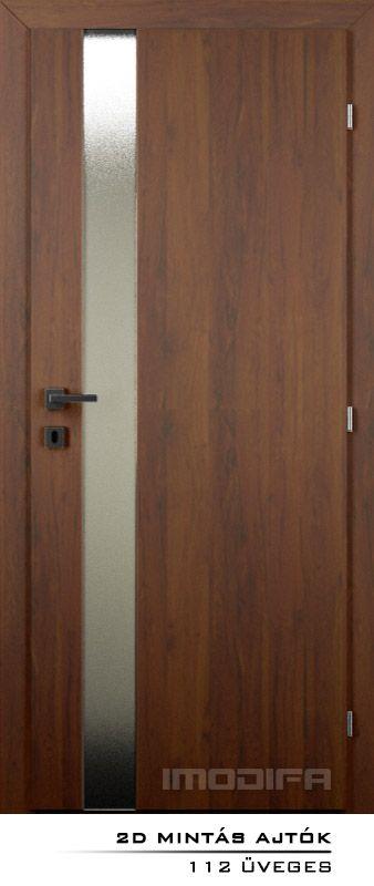 Üveggel osztott ajtók