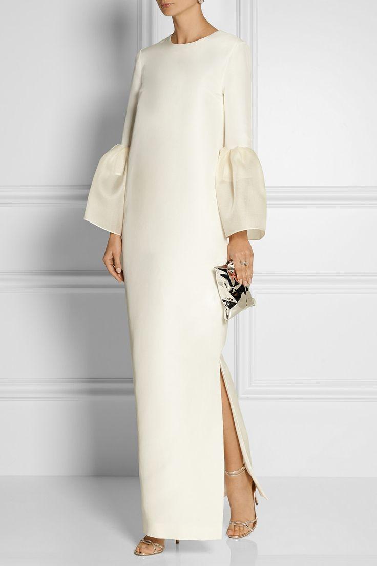 Roksanda|Dubois silk and cotton-blend gown|NET-A-PORTER.COM