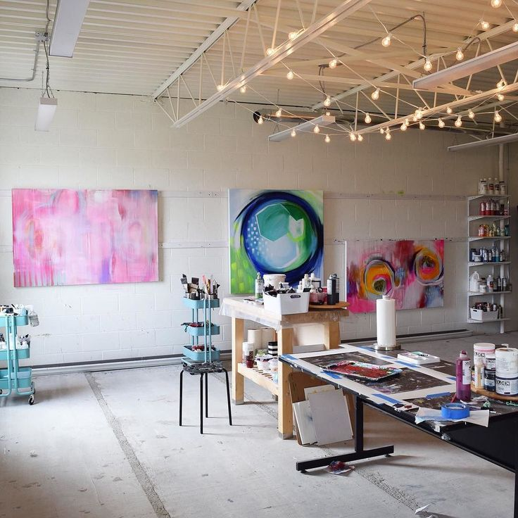Studio is looking twinkly on this gloomy day
