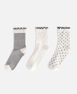 3 neutral socks - 0