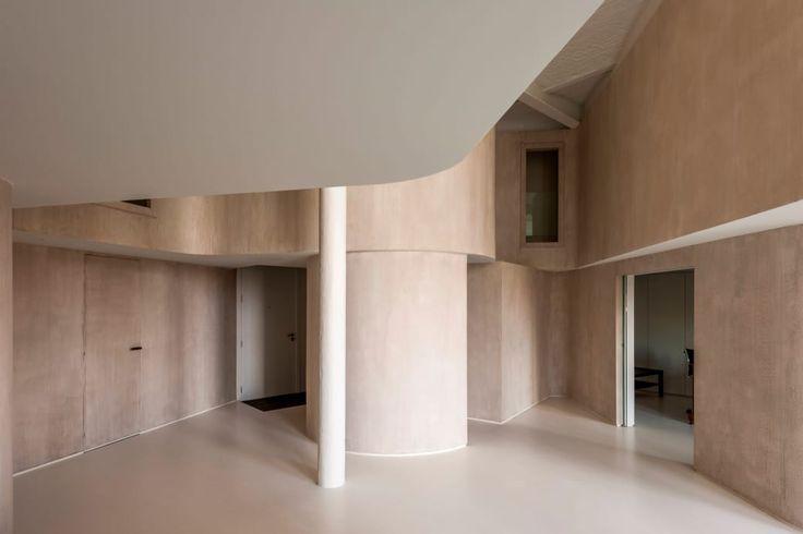 GRAUX & BAEYENS architects, Luc Roymans · Loft M: exercise in draping light