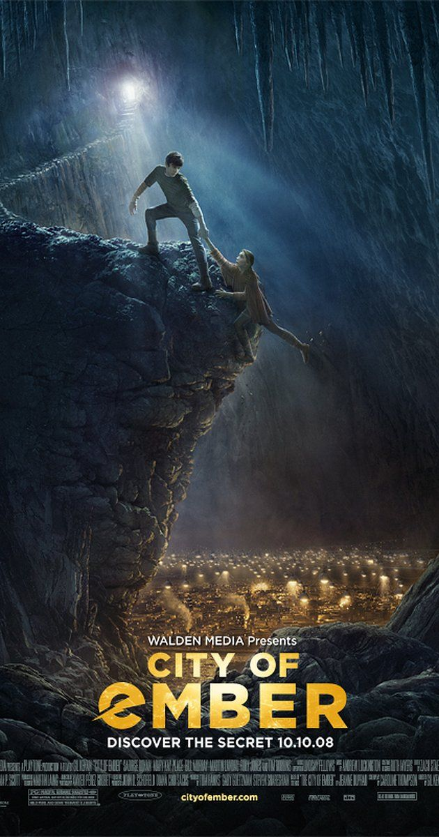 Directed by Gil Kenan.  With Saoirse Ronan, Toby Jones, Bill Murray, David Ryall. For generations, the people of the City of Ember have flourished in an amazing world of glittering lights. But Ember's once powerful generator is failing ... and the great lamps that illuminate the city are starting to flicker.