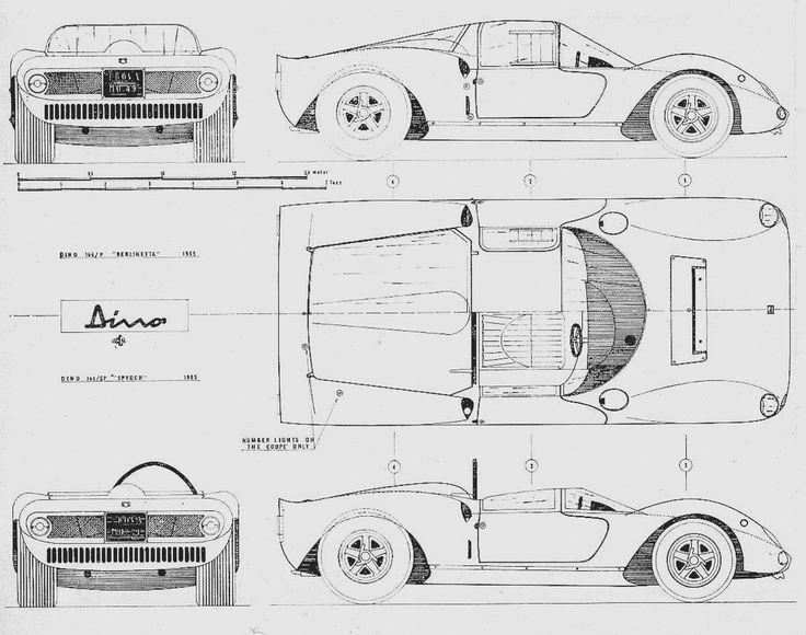 156 best Technical Drawings, Vehicle images on Pinterest | Cars ...