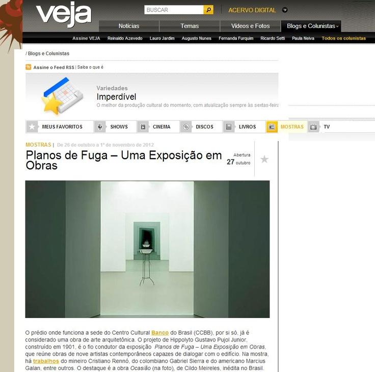 Veículo: site Revista Veja. Clique na imagem para ler a matéria completa.