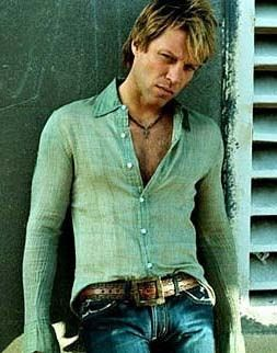 Jon Bon Jovi. Seen them 3 times. Ranee's true love.