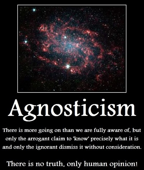 I am an agnostic atheist. While I do not believe God(s) exists, I have no knowledge as to whether he/she/they exist or not.