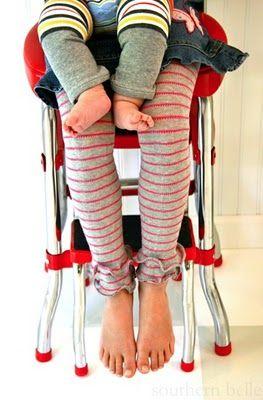 stripe love: Sewing, Kids Clothes, Girl, Legwarmers, Mini Leg, Kids Leg, Legs, Leg Warmers
