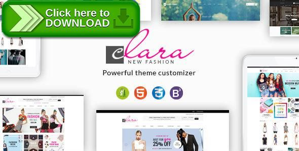 [ThemeForest]Free nulled download Clara - Minimalist Fashion Responsive Shopify Theme from http://zippyfile.download/f.php?id=6423 Tags: fashion creative mordem, fashion premium shopify themes, garden tool warehouse kitchen, home appliance electronics, jewelry jewellery fragrance, kid infant children apparel, minimal cosmetic beauty game, minimalist theme, new responsive bootstrap html5, perfume retina parallax simple, supermarket market groceries, superstore shopping mall pho
