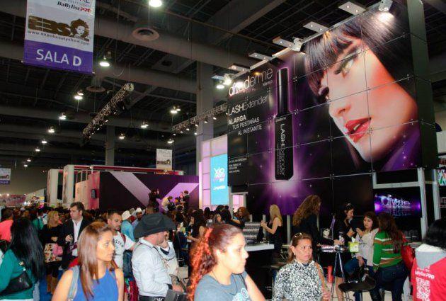 Expo Beauty Show EBS el evento más grande de Belleza profesional Internacional en el mundo por sus metros de exposición, en el Centro Banamex, Hipódromo de las Américas.