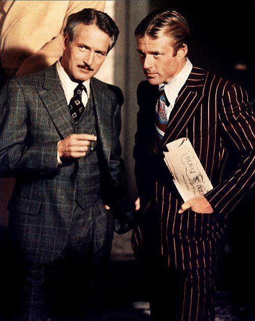 DAPPER SUITS BOYS. NEWMAN AND REDFORD IN THE STING. OH MY! THE HOKEY POKEY MAN AND AN INSANE HAWKER OF FISH BY CONNIE DURAND. AVAILABLE ON AMAZON KINDLE.