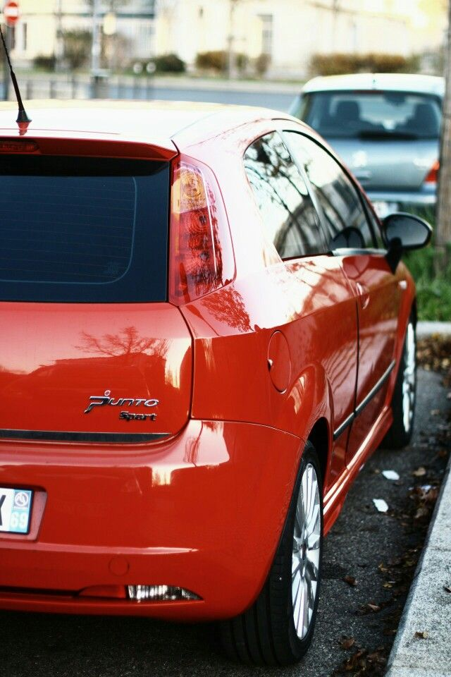 Fiat grande punto sport.