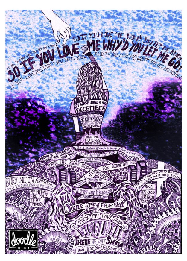 """Violet Hill"" 