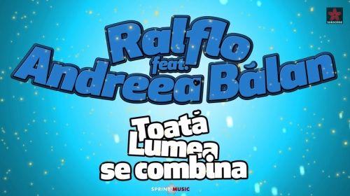 Ralflo & Andreea Balan - Toata Lumea Se Combina (Audio)  http://www.romusicnews.com/ralflo-andreea-balan-toata-lumea-se-combina-audio/