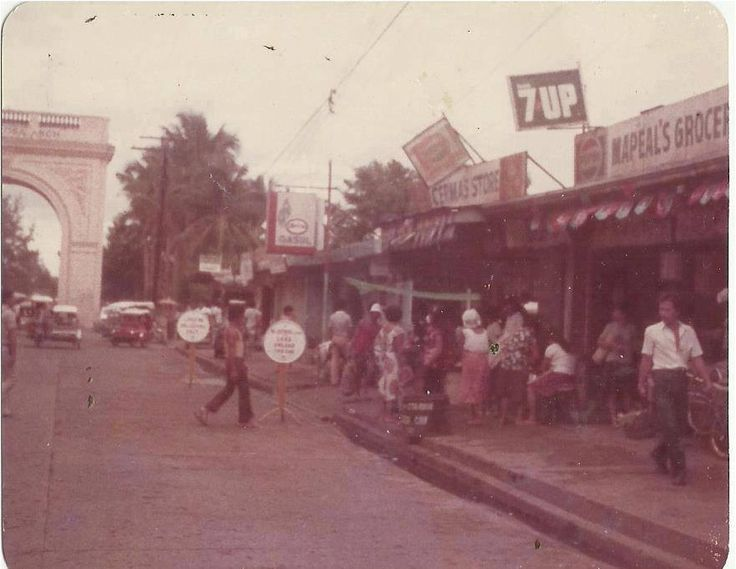 Old Municipal Market way back (1985-1999)  by Rhose Santos
