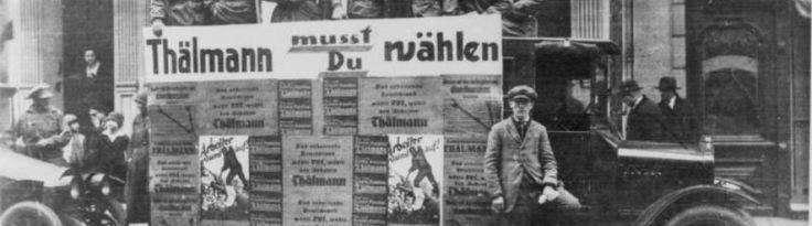 La stratégie du mouvement ouvrier allemand a traversé plusieurs crises et plusieurs tournants dans l'entre-deux guerres. Si l'on se souvient parfois que le KPD (parti communiste allemand) n'a pas su s'allier aux sociaux-démocrates face à Hitler au début...