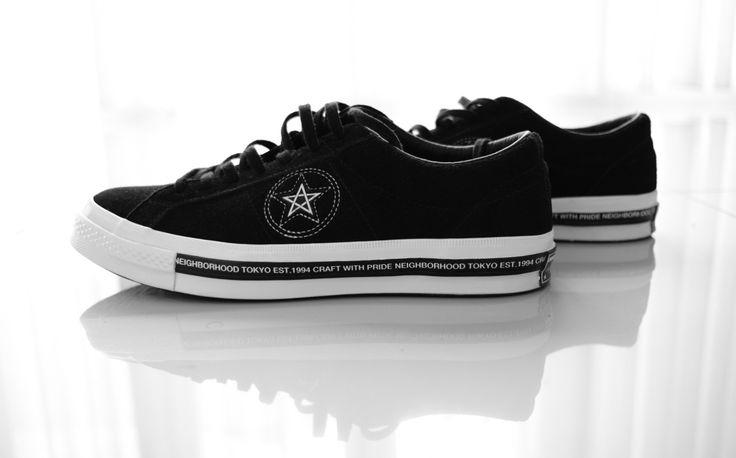 Converse one star x neighborhood ❤️