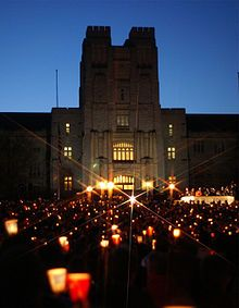 Virginia Tech massacre - April 16, 2007 (Seung-Hui Cho shot and killed 32 people and wounded 17 others)