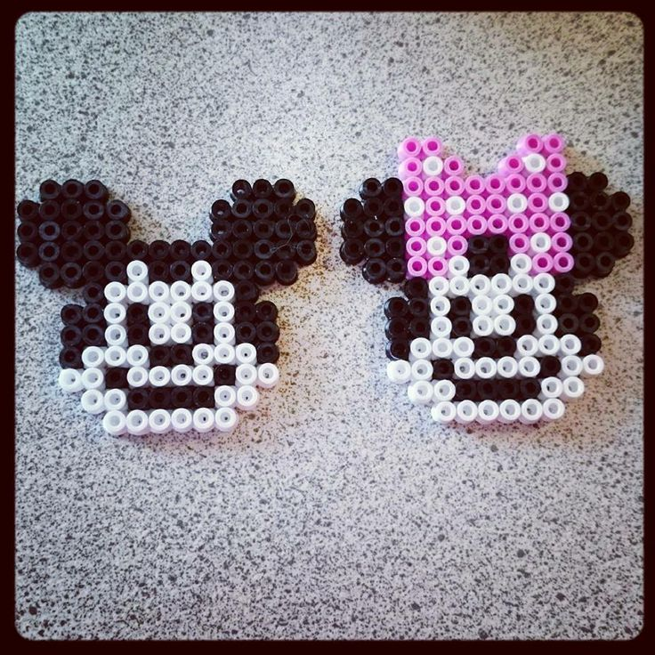 Mickey Mouse, Minnie Mouse, Hama