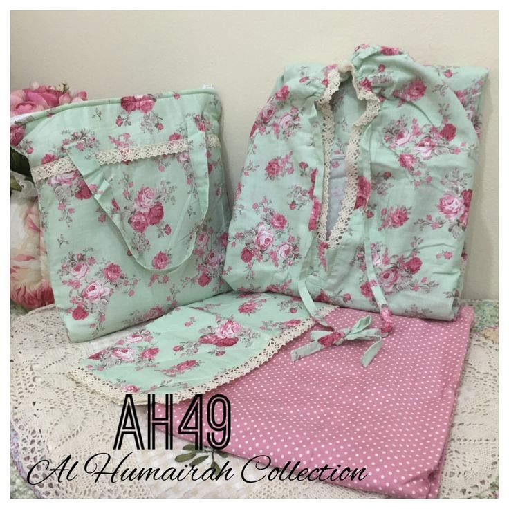 Al Humaira Telekung Cotton – AH49  RM150.00  – Telekung cotton with printed design  – Special vintage style design  – Japanese cotton material  – Face size up to L size  – Set includes beautiful handmade bag & mini sajaddah  – Limited pieces  http://www.telekung.co/product/ah49/