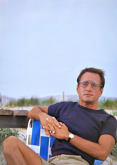 """Roy Scheider as Martin Brody in  JAWS - i named my Teddy Bear after him (""""Roy"""")"""