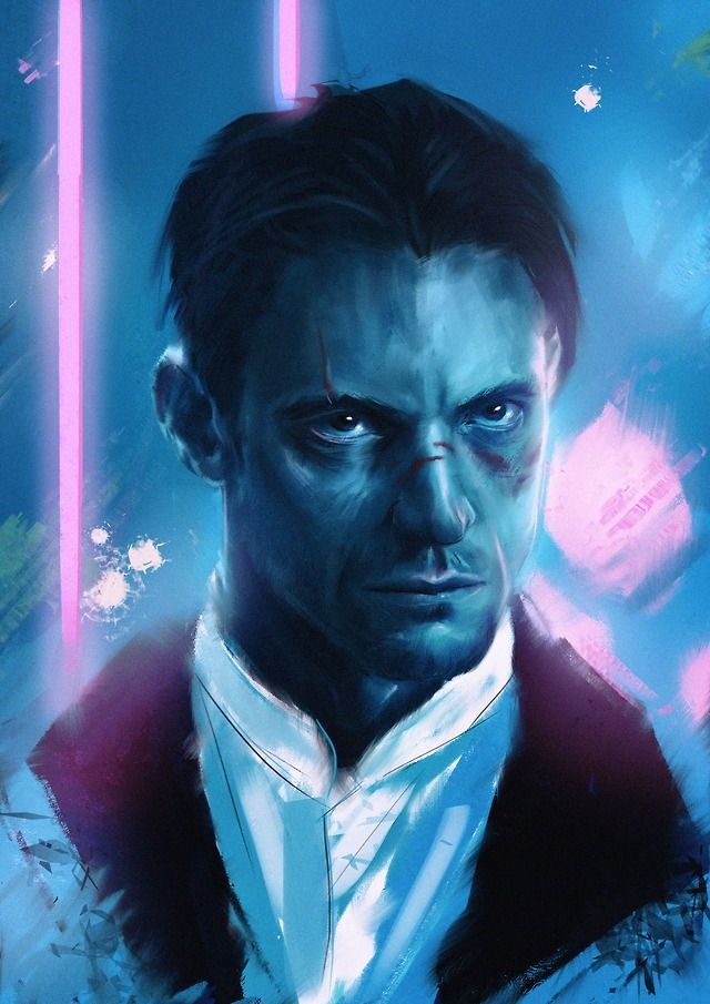 Pin By 𝙴𝚜𝚖𝚎 On Cyberpunk Altered Carbon Fan Art Movie Posters Minimalist