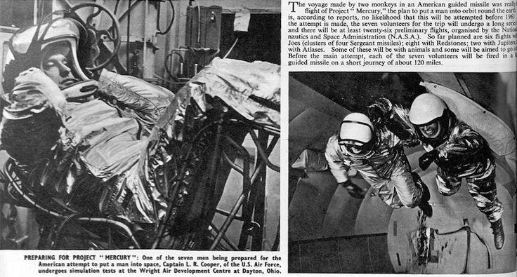 Preparing for Project Mercury | The Final Frontier | The British Newspaper Archive Blog (scheduled via http://www.tailwindapp.com?utm_source=pinterest&utm_medium=twpin&utm_content=post175941087&utm_campaign=scheduler_attribution)