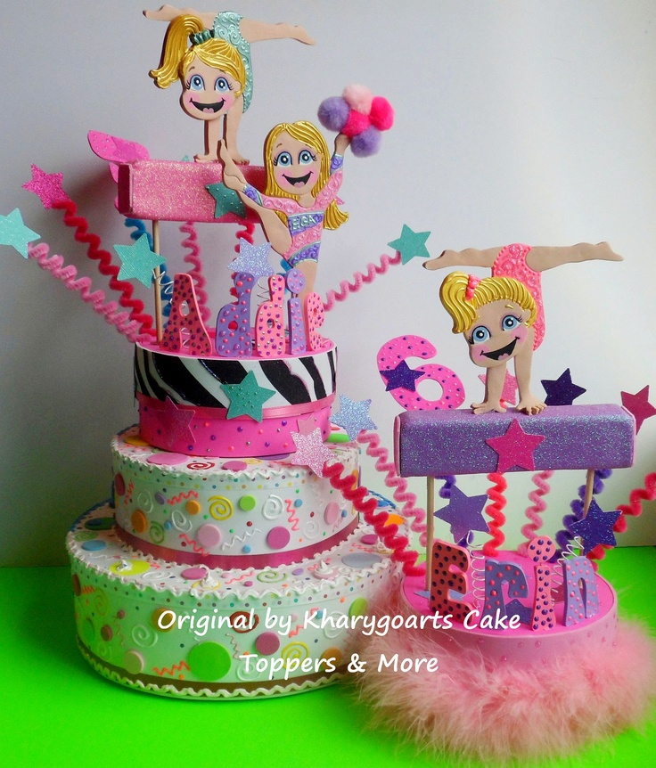 Gymnastic Cake Decorations Uk : The 25+ best Gymnastics birthday cakes ideas on Pinterest ...