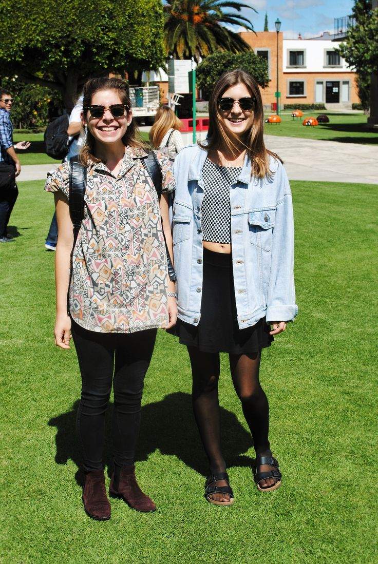 Street Style en la Universidad De Las Americas Puebla (UDLAP) - Rough & Smooth