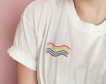 LGBT Embroidered T-Shirt