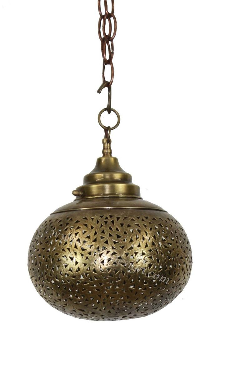 Hand Punched Brass Lantern - LIG256, $485.00 (http://www.badiadesign.com/moroccan-hand-punched-brass-lantern-lig256/), Pendant light, brass pendant light, Moroccan brass lantern, hand punched brass lantern, Moroccan lighting, Moroccan party lighting