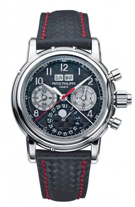 Patek Philippe 5004T Chronograph Ratrappante Perpetual Calendar with Moon Phases - the only ever made with titanium case UNIQUE PIECE for #OnlyWatch charity auction.