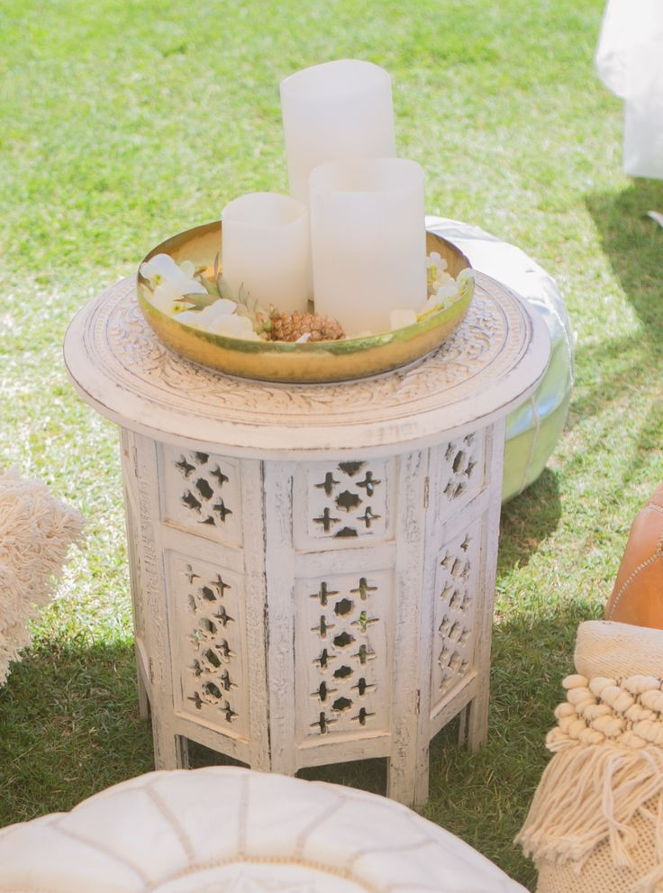 MOROCCAN SIDE TABLE WHITE  @sperrytentsaustralia  Absolute beach front weddings & events at @elementsofbyron beautiful capture by @melita_photo Floral design by @bowerbotanicals Furniture & Styling by @sperrytentsbyronbay #sperrycorporateevents #sperrylove #sperrytents @sperrytents @sperrytents_sunshinecoast @sperrytentsvictoria @sperrytentssydney #byronbay #byronbayconferencing #bbeb #elementsofbyron #heartofthebay #byronbayweddings