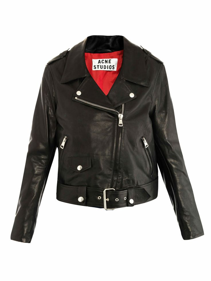 Mape leather jacket by: ACNE