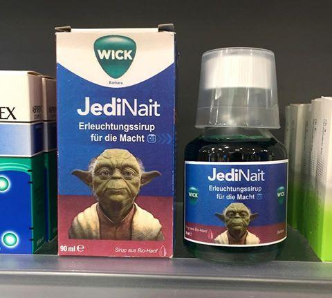 WICK JediNait - Erleuchtungssirup für die Macht. #spruch #sprüche #lustig #lustigesprüche #cool #witzig #starwars #yoda