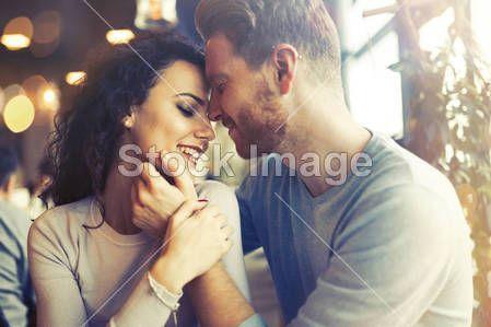 Sentimental couple in love bonding