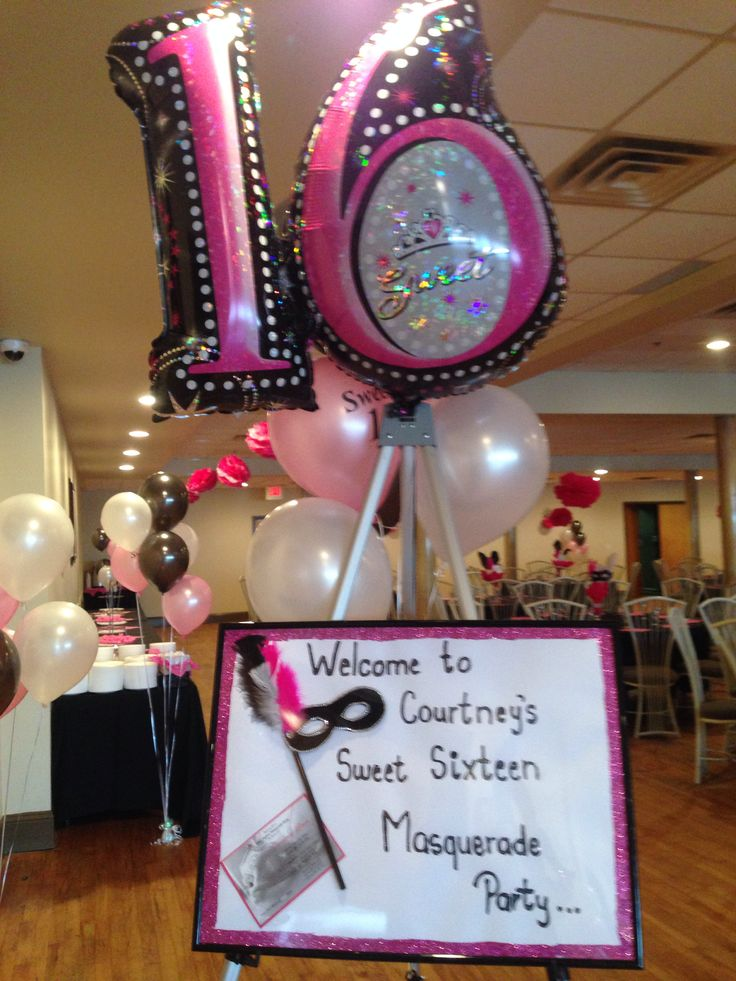 1000 images about sweet sixteen on pinterest sweet for 16th birthday decoration ideas