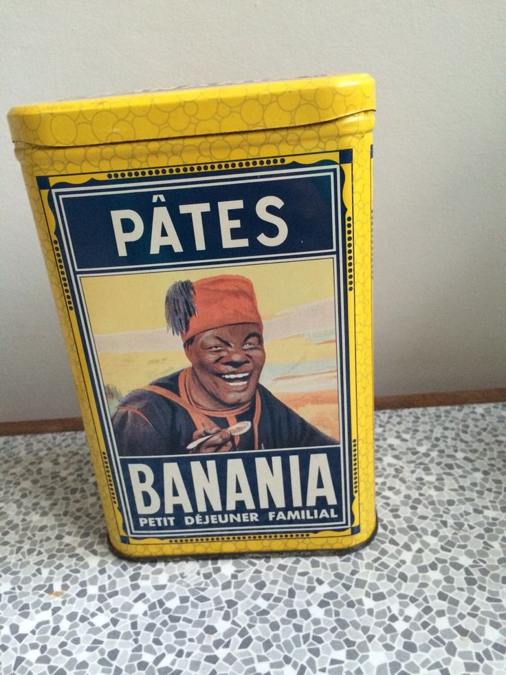 A personal favorite from my Etsy shop https://www.etsy.com/uk/listing/249512653/french-vintage-banania-tin