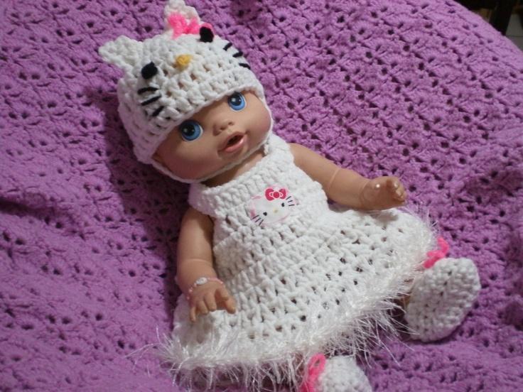 Hello Kitty Set For Baby Alive 13 Inch via Etsy.