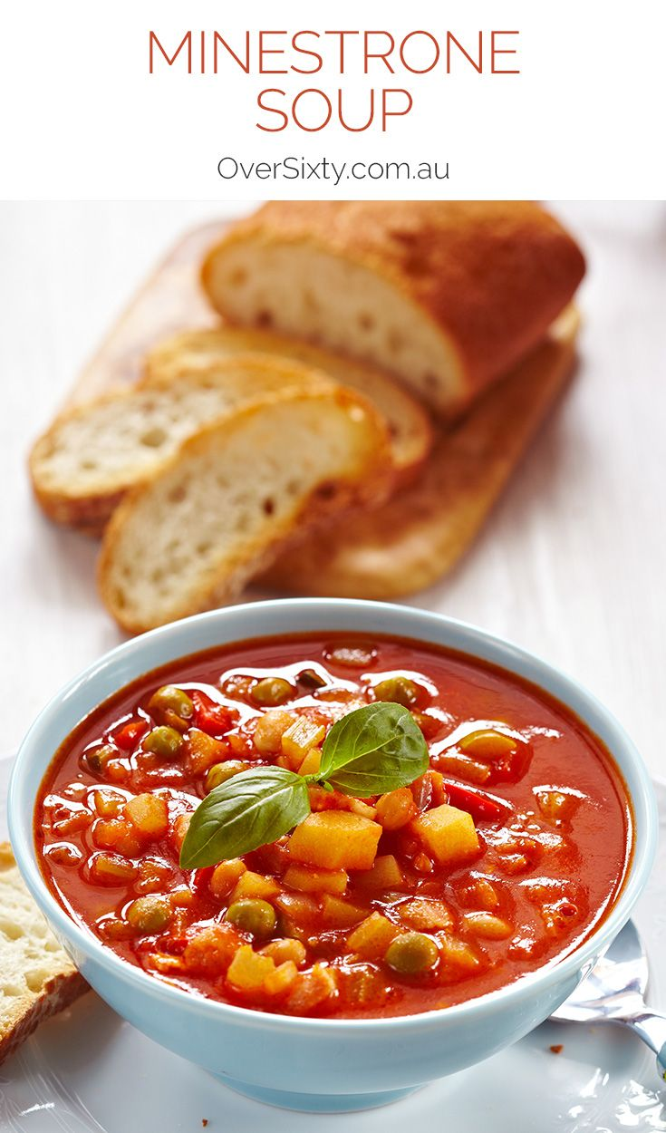 Minestrone Soup Recipe - this warming, filling soup may be the perfect winter recipe.