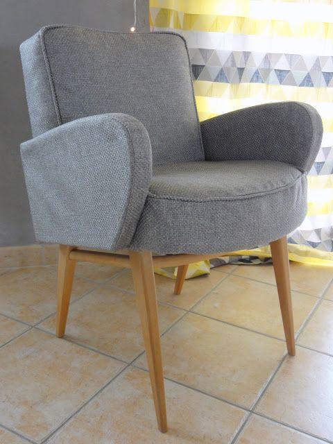Rue des lucioles: DIY Déco : La réno du fauteuil scandinave