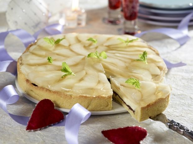 Pæretærte med creme | Ude og Hjemme